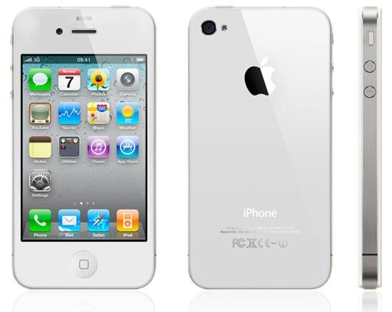 iPhone 4 white iOS 7.2 150,00€